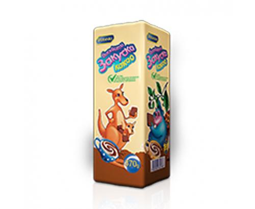 Бисквити Закуска 370г Какао