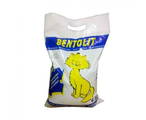 Котешка тоалетна Бентолит 4кг Бентонит