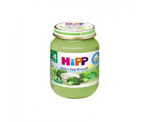 Био пюре Хип 125г Броколи с ориз