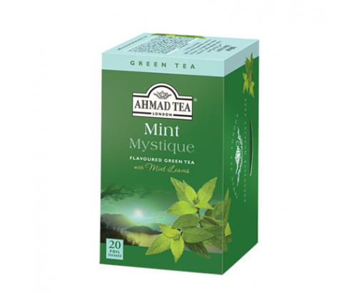 Чай Ахмад 20бр Зелен с мента