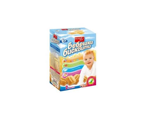 Бебешки бисквити Суит + 240г