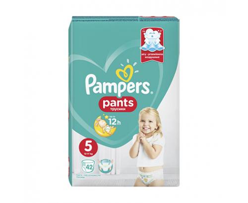 Бебешки пелени Памперс Пантс S5 Джуниър 42бр