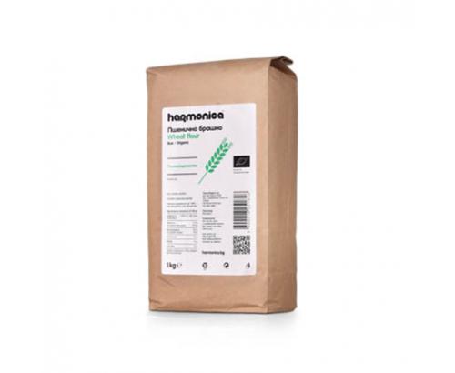Био пълнозърнесто пшенично брашно Хармоника 1кг