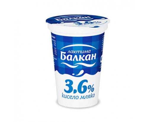 Кисело мляко Балкан 3,6% 400г