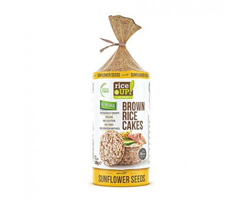Бисквити от кафяв пълнозърнест ориз Райс Ъп 120г Слънчоглед