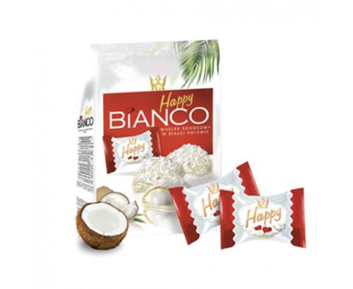 Бонбони Хепи Бианко 140г кокос