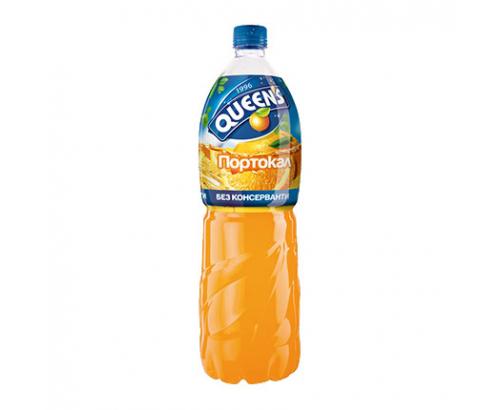 Напитка Куинс 2Л Портокал