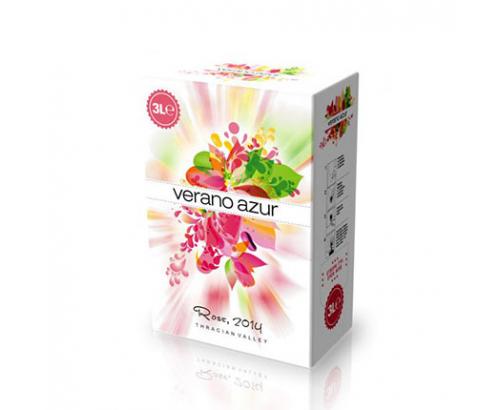 Вино Верано Азур 3л Розе