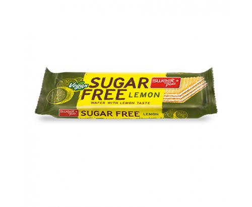 Вафла Без Захар 24г Лимон