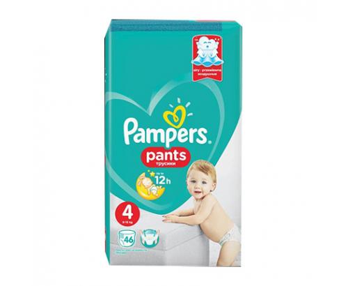 Бебешки пелени Памперс Пантс S4 Макси 46бр