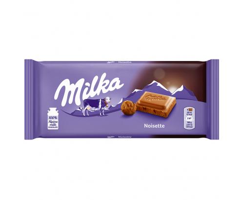 Шоколад Милка 100г Млян лешник