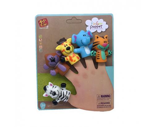Игра за пръсти диви животни