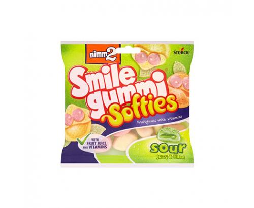 Желирани бонбони Смайлгъми 90г Кисели