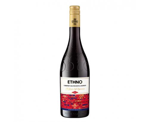 Вино Етно 750мл Каберне и Мавруд