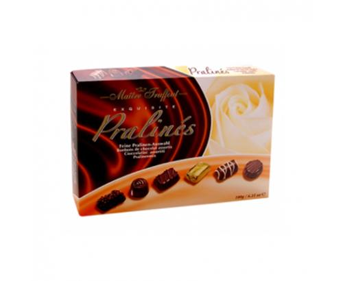 Шоколадови бонбони Майтре Трюфо Пралине Асорти 180г