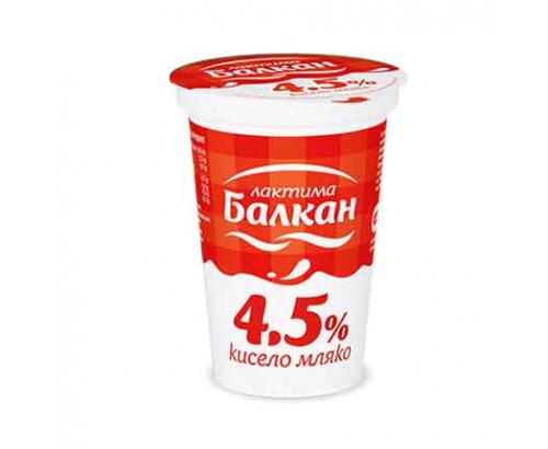 Кисело мляко Балкан 4,5% 400г