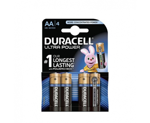 Батерии Дюрасел АА Плюс MX1500 4бр