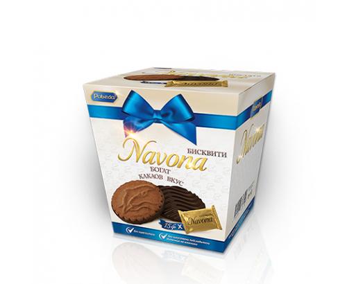 Бисквити Навона 150г Какао
