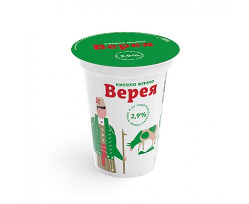 Кисело мляко Верея 2,9% 400г