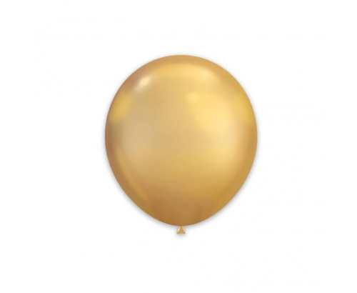 Балони 100бр Различни цветове в пакет 25см металик