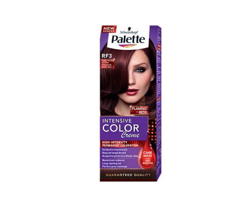 Боя за коса Палете Интензив Калър Крийм RF3 Тъмно червено