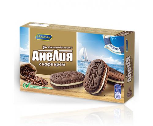 Бисквити Анелия 187г Крем Кафе