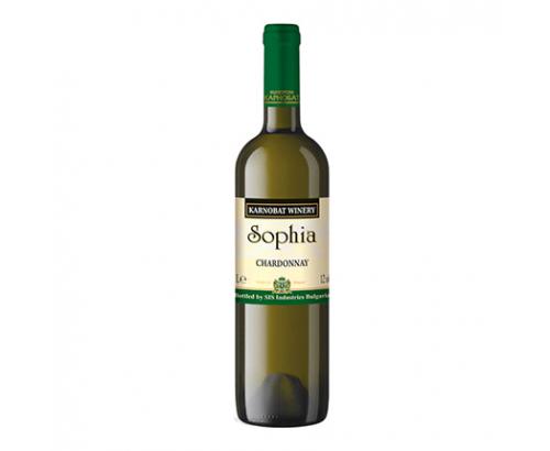 Вино София Карнобат 1,5л Шардоне