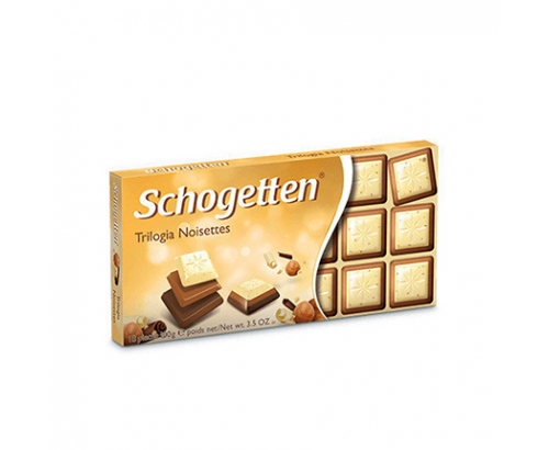Шоколад Шогетен 100г Трилогия