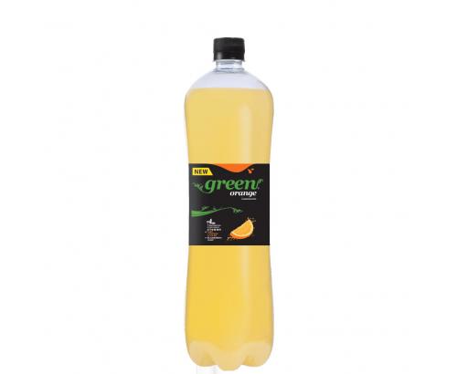 Газирана напитка Грийн 1,5л Портокал
