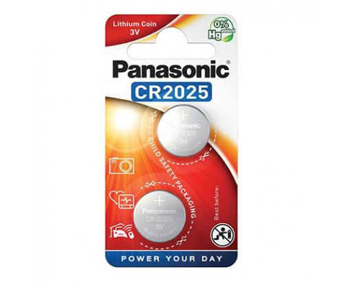 Батерии Панасоник CR-2025 EP/2B