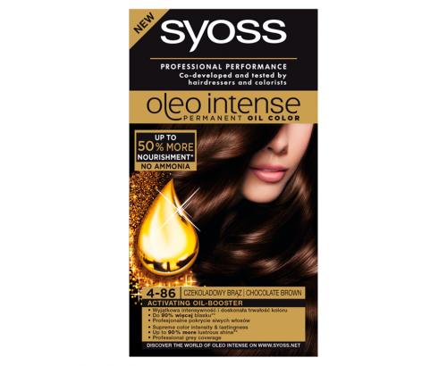 Боя за коса Саяз Олео 4-86 Шоколадово кафяв