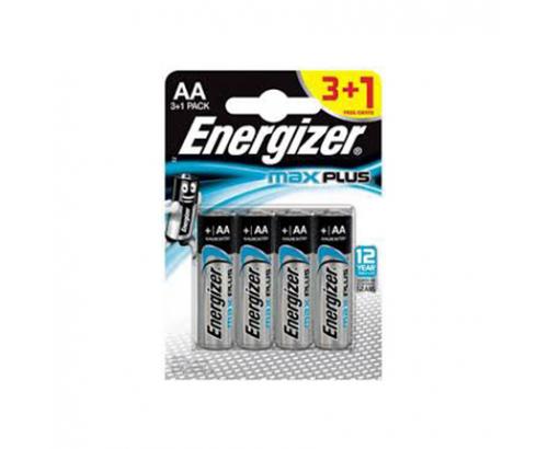 Батерии Енерджайзер Макси Плюс Алкални АА 3+1бр