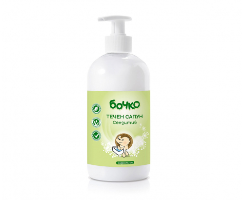 Течен сапун Бочко 500мл Сензитив