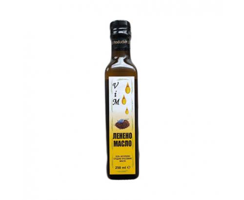 Ленено масло Вим 250мл студено пресовано