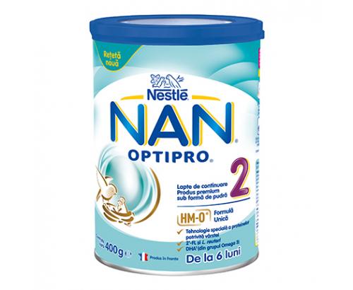 Адаптирано мляко Нан 400г 2