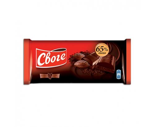 Шоколад Своге 80г 65% Какао