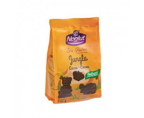 Детски бисквити Джунгла 100г Без глутен какао