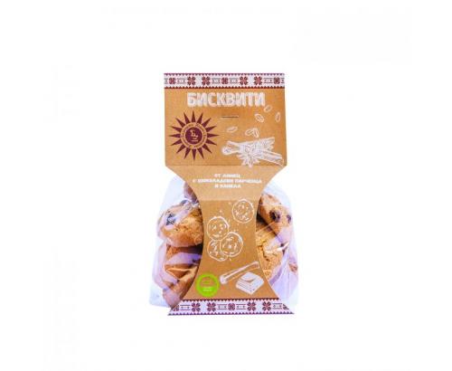 Бисквити Българско зърно 120г Лимец, шоколад, канела
