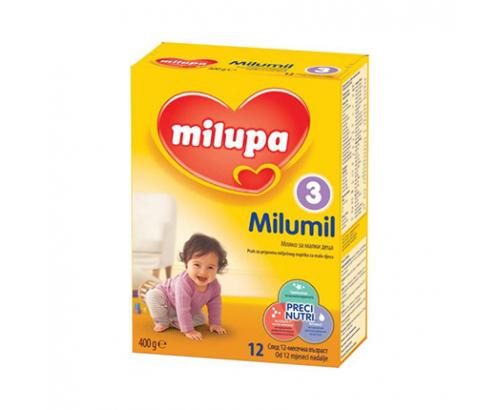 Адаптирано мляко Милумил 3 400г 12 месеца