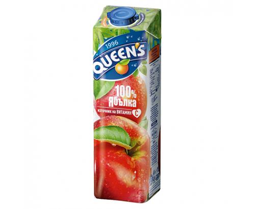 Напитка Куинс 1л Ябълка