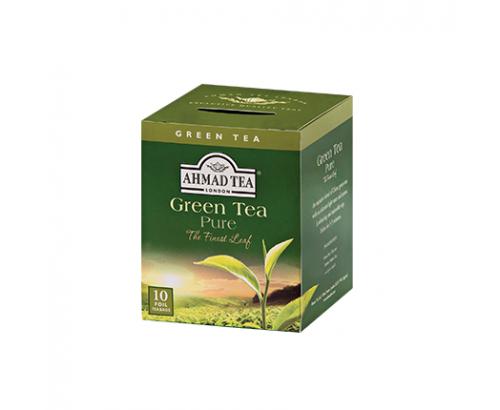 Чай Ахмад 10бр Зелен