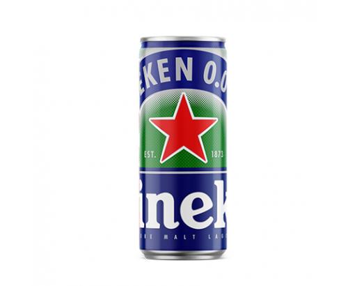 Бира Хайнекен 330мл 0% алкохол