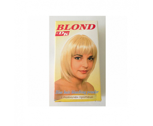 Блонд на прах