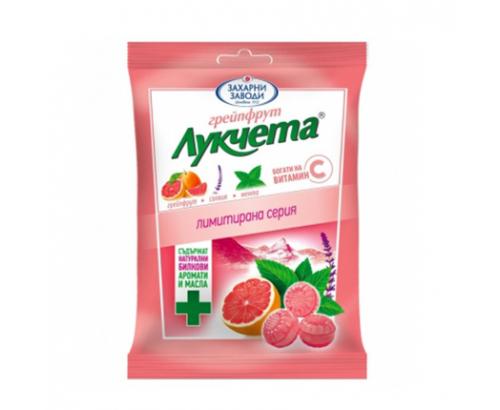 Бонбони Лукчета 85г Грейпфрут