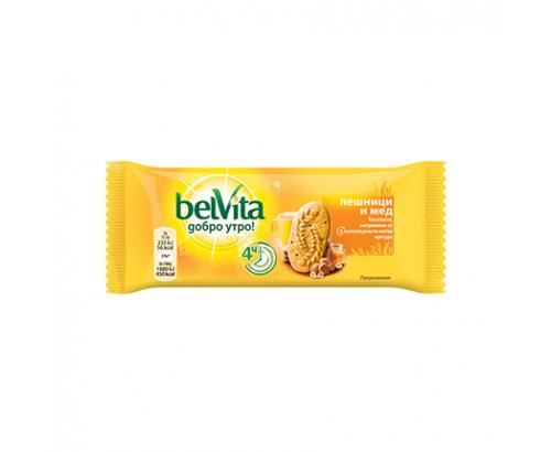 Бисквити Белвита 50г Лешник и мед