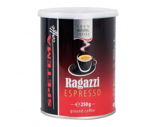 Мляно кафе Спетема Рагаци 250г Метална кутия