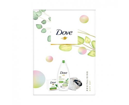 Подаръчен комплект Даф - Душ гел + сапун + гъба за тяло