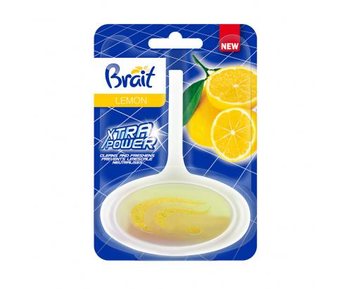Ароматизатор за тоалетна Брайт 40г Лимон