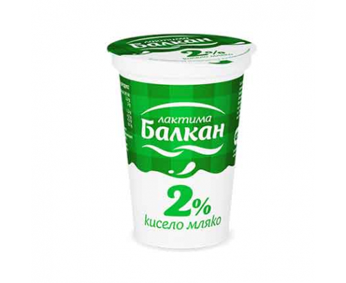 Кисело мляко Балкан 2% 400г