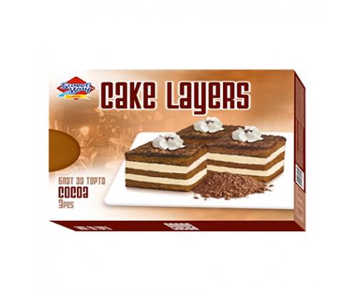 Блат за торта Сладък път 400г Какао